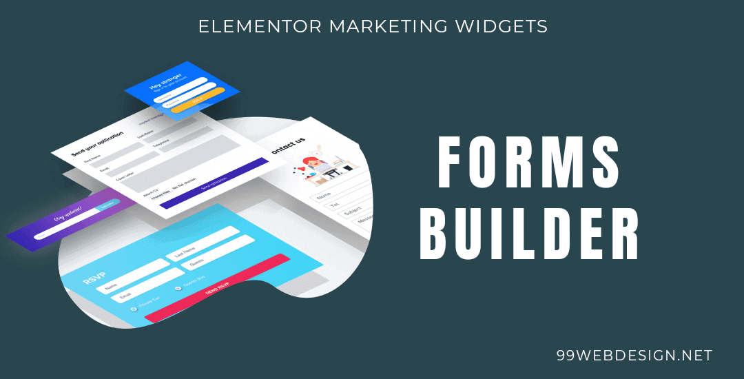 Elementor forms builder widget
