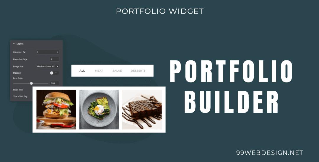 Elementor portfolio widgets