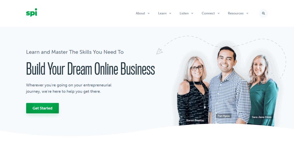 spi website design