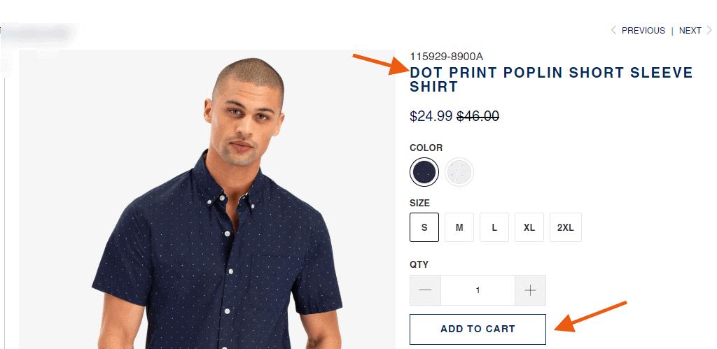 polo tshirt ecommerce store