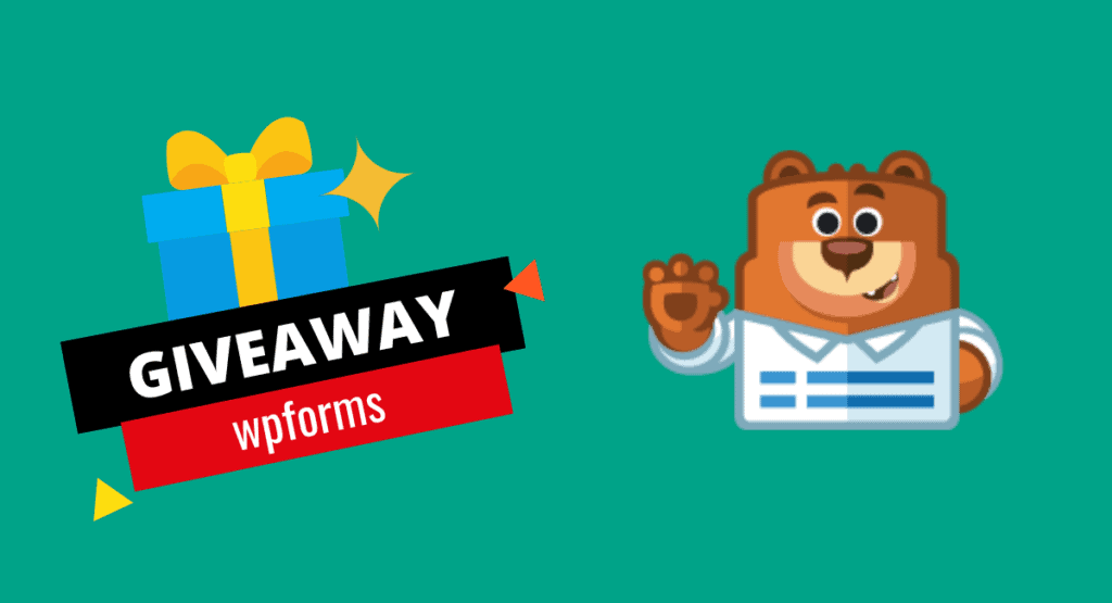 wpforms pro for free, a giveaway to win forms builder for free