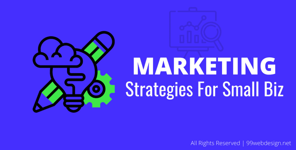 build marketing strategies for small business